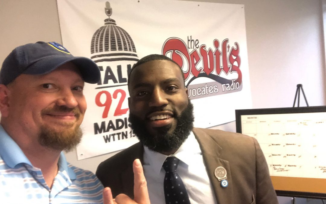 5-30-19 – State Rep. David Bowen – Candidate for Chair, Democratic Party of WI