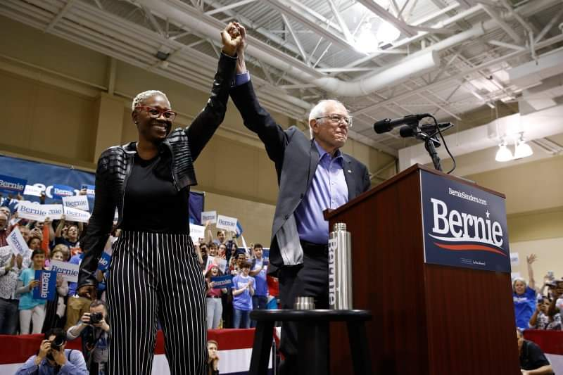 4-6-20 – Nina Turner – National co-chair  – The Bernie Sanders 2020 campaign